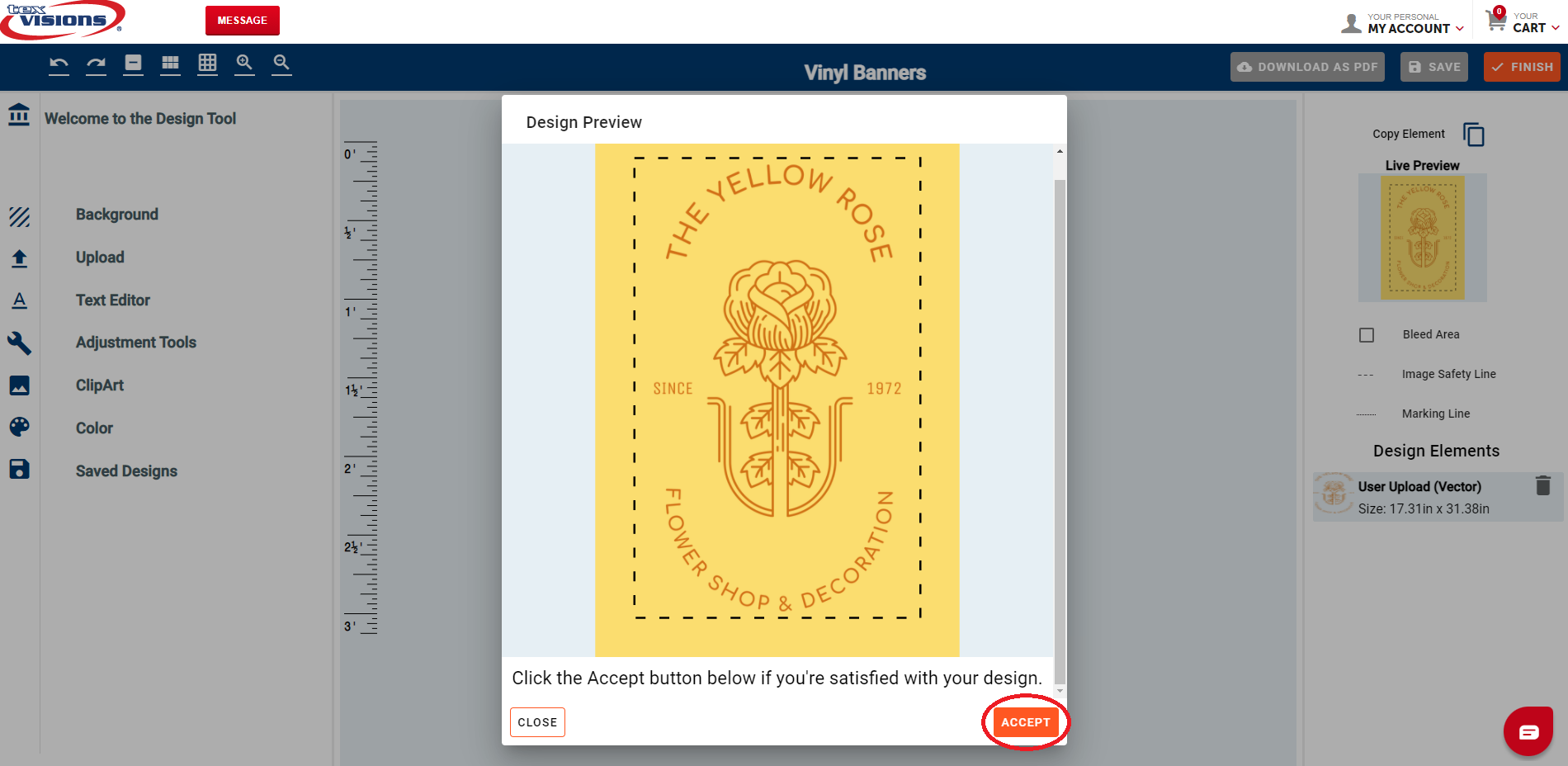Step 2: View Your Finished Design